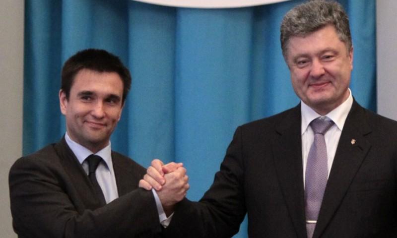 У Климкина и Порошенко нашли родственников в России