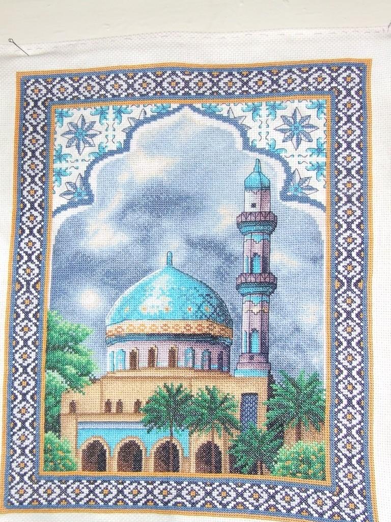 Вышивка молитва мусульманская схема