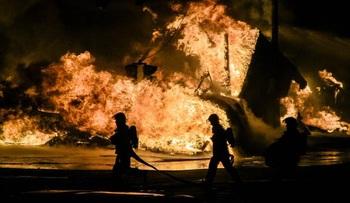 Пожарный погиб на съемках фильма с Брюсом Уиллисом