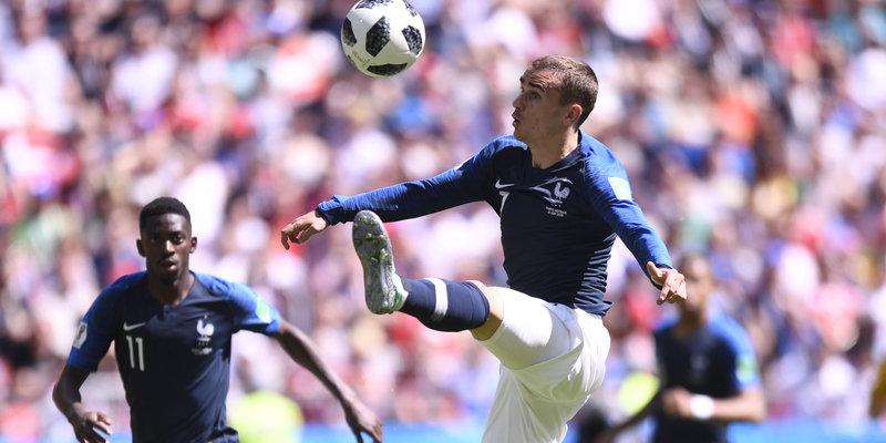 ЧЕМПИОНАТ МИРА ПО ФУТБОЛУ FIFA 2018™: Франция - Перу