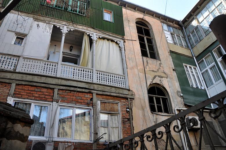 Итальянские дворики, или романтика грузинских коммуналок архитектура,интерьер и дизайн