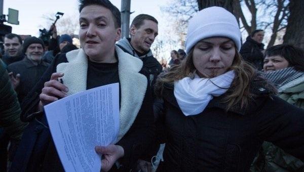 Генпрокуратура Украины настаивает нааресте Надежды Савченко