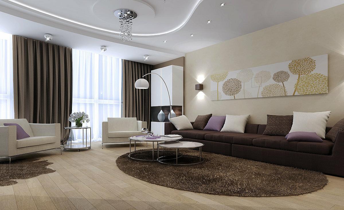 Как красиво обставить зал в современном стиле? идеи для дома,интерьер и дизайн