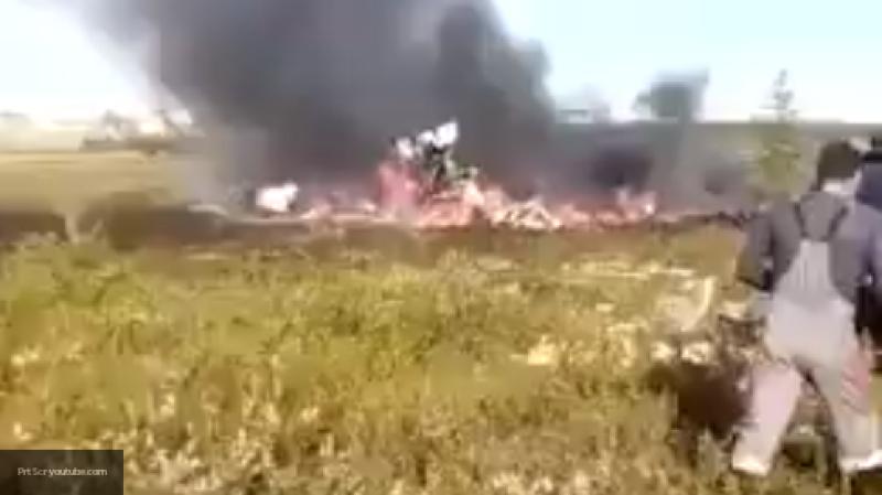 При крушении вертолета Ми-8 погибли шесть жителей Красноярского края