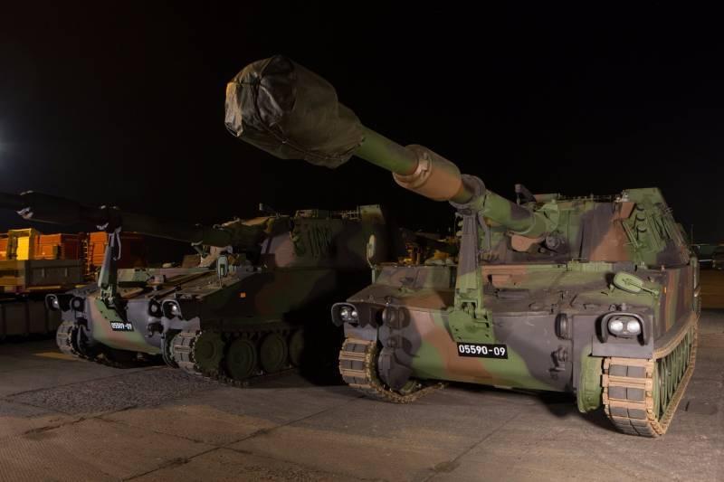 Латвия вооружилась 35 самоходными гаубицами М109А5Öе, правда не новыми