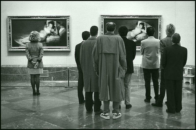 Эллиот Эрвитт - Музей Прадо, Мадрид 1995 Весь Мир в объективе, история, фотография