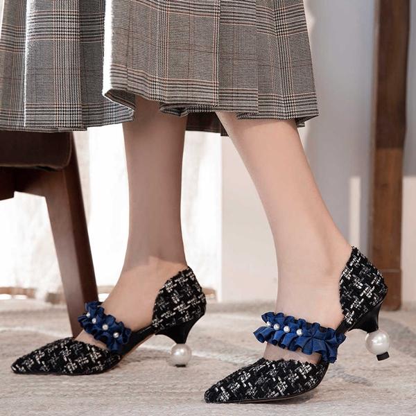 Туфли на низком каблуке: новинки и тренды 2020