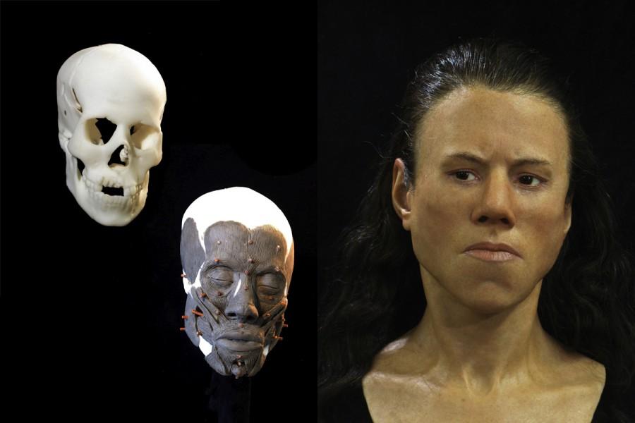 Ученые восстановили лицо 18-летней девушки, проживавшей на территории Греции 9 тыс. лет назад