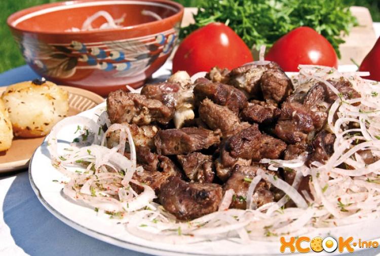 Узбекский казан-кебаб -  как приготовить на мангале