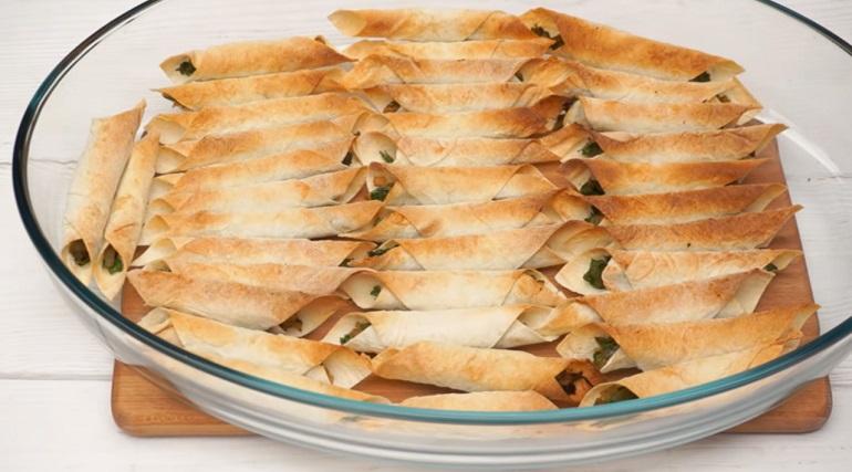 Хрустящая закуска из лаваша: вкусное бюджетное блюдо