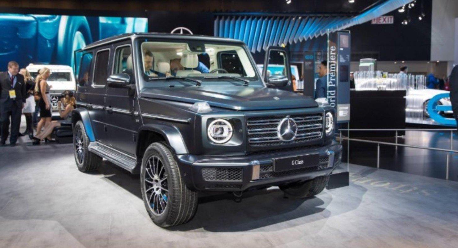 Раскрыты новые подробности об электрической внедорожной версии Mercedes EQG