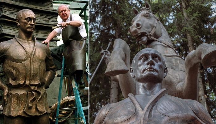 скульптуры церетели в волгограде с фото