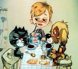 ДЕТКАМ НА ЗАМЕТКУ. Мультфильм Простоквашино — дядя Федор, пес и кот
