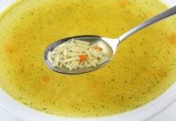 Суп на курином бульоне - гор…