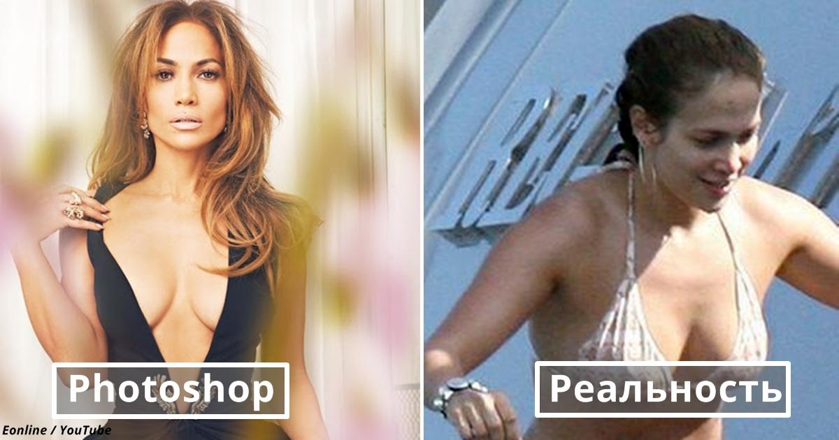 Вот как выглядят 18 ″самых красивых″ звезд Голливуда без макияжа и Фотошопа