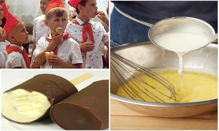 Пломбир в шоколаде, советское фруктово-ягодное: Как сделать самому мороженое, вкус которого напомнит о детстве