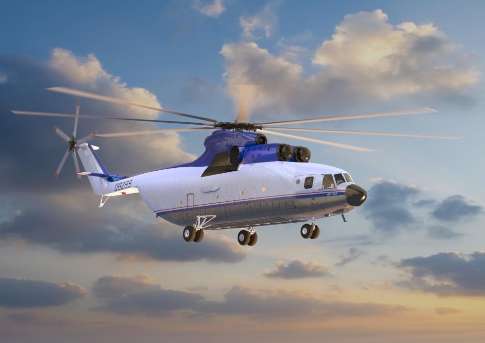 Модернизированный вертолет М…