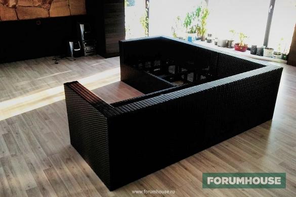 Мебель из искусственного ротанга своими руками
