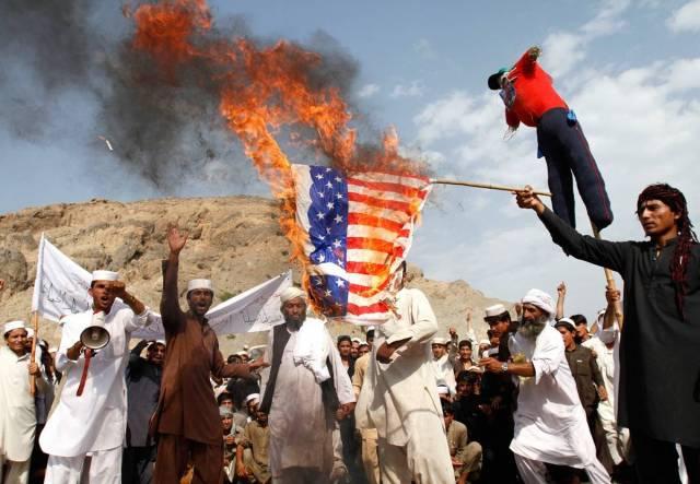 США с треском проигрывают Афганистан