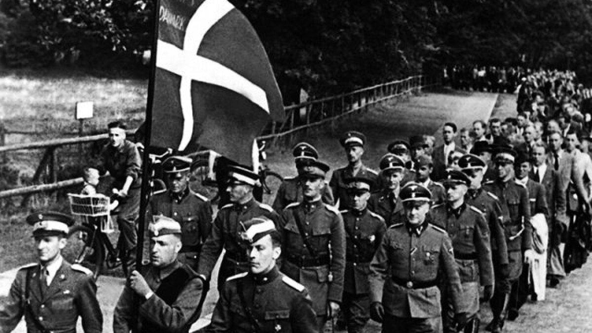 Гитлеровский Евросоюз. Дания