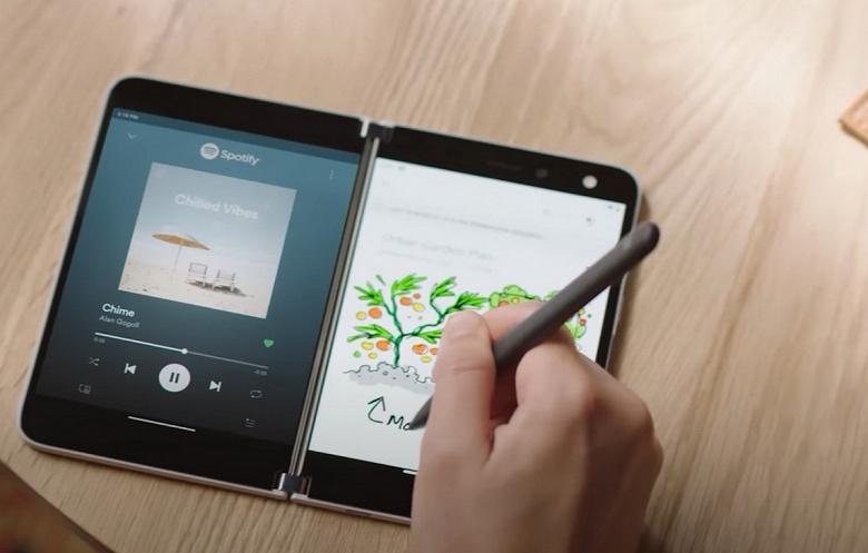 Microsoft полчаса показывает, насколько необычен её 1400-долларовый смартфон Surface Duo новости,смартфон,статья