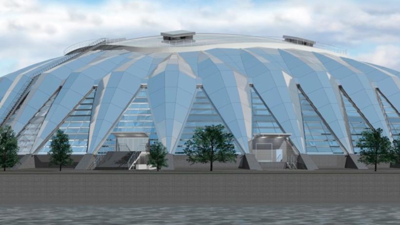 Спортзал «Дружба» откроют в Лужниках до конца года
