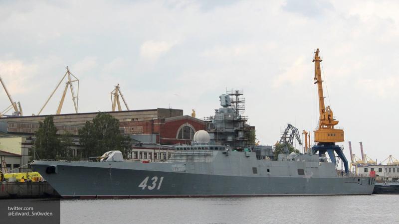 """Второй фрегат """"Адмирал Касатонов"""" заступит на службу в ВМФ не раньше марта 2019 года"""