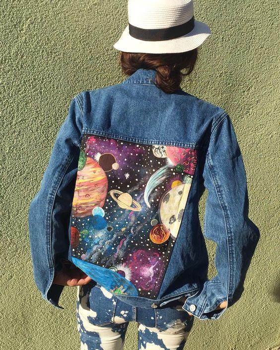 Переделка джинсовых курток (идеи)