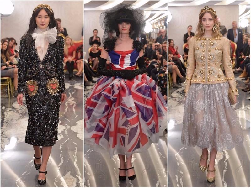 Dolce & Gabbana Alta Moda  осень-зима 2017-2018 в Лондон