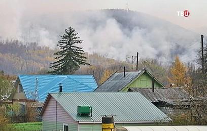 Площадь пожаров в Приморье увеличилась на треть