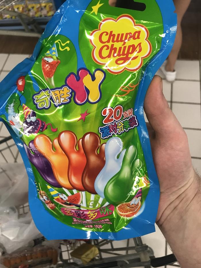 Известные продукты по-китайски