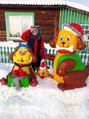 Шедевр из снега Татьяны Тоцк…