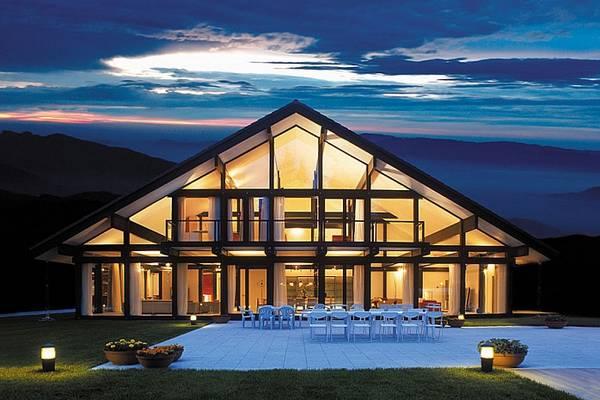 красивые проекты одноэтажных домов, фото 21