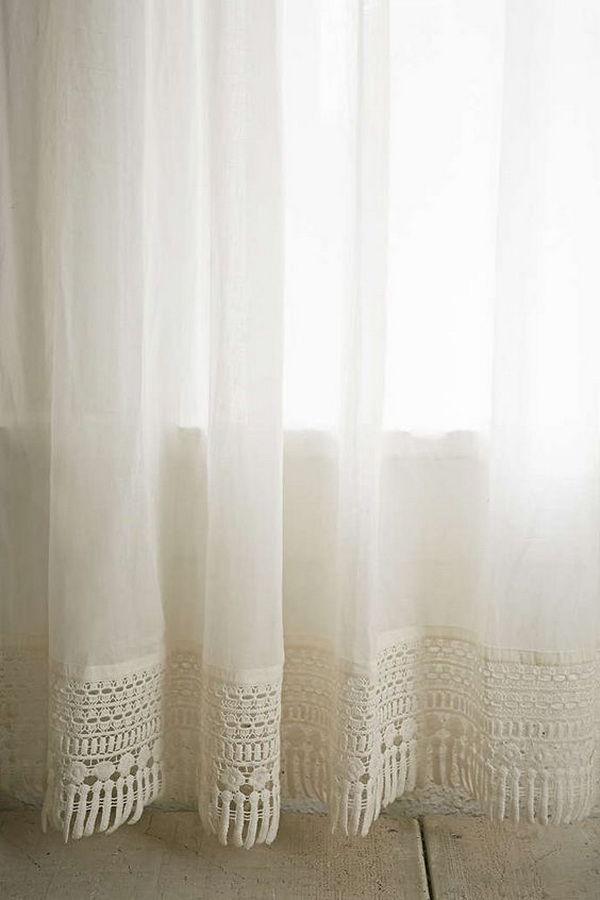 Идеи штор и занавесок в винтажном стиле для дачного дома
