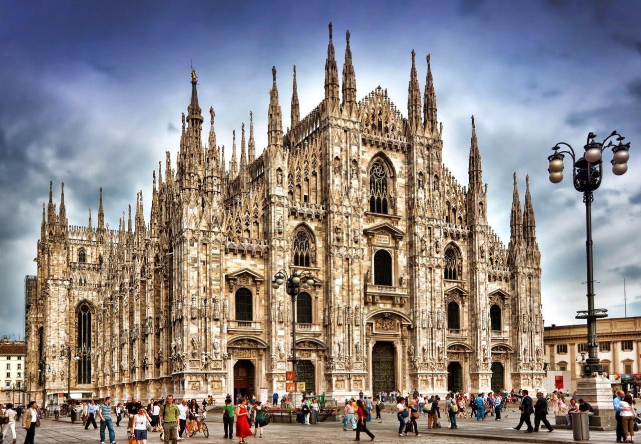 Миланский собор чудо поздней готики