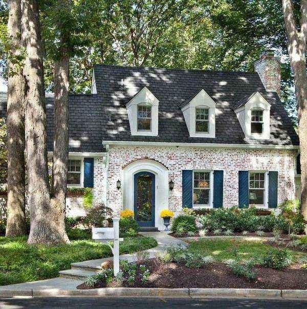 красивые одноэтажные дома, фото 2