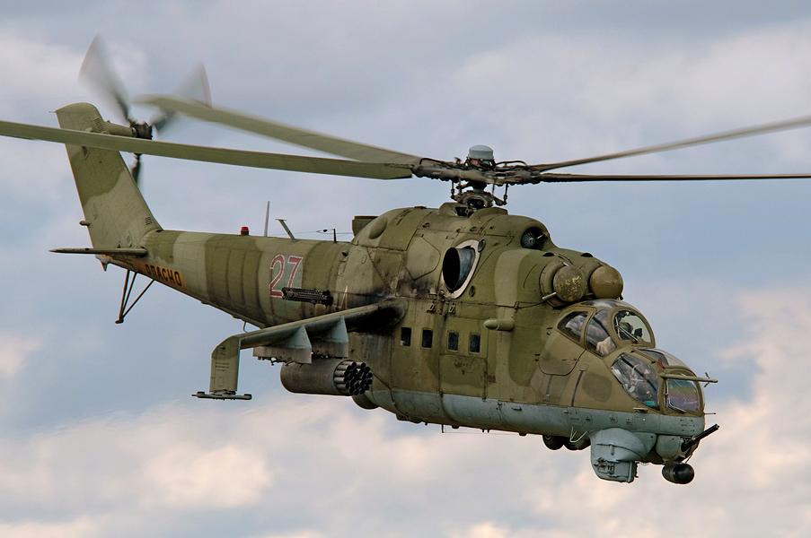 Как вертолет Ми-24 сбил истребитель F-4, который увидел в нем