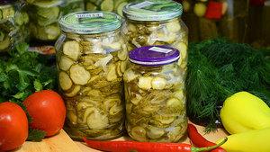 Салат из огурцов на зиму, с …