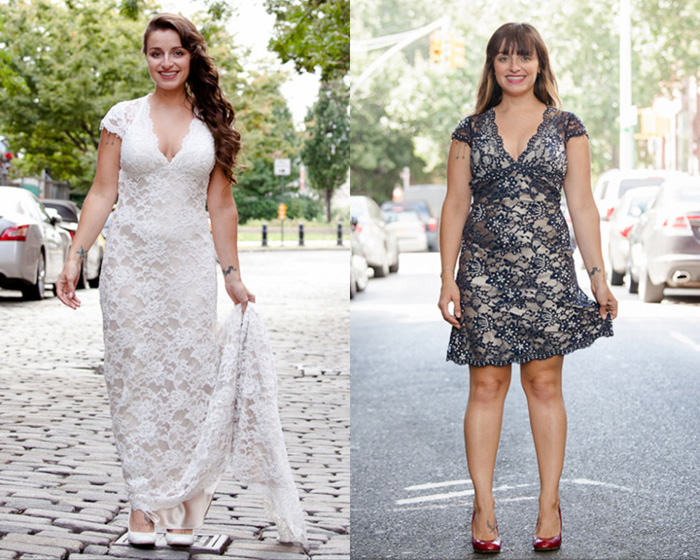 После свадьбы — 10 вариантов преображения подвенечного платья