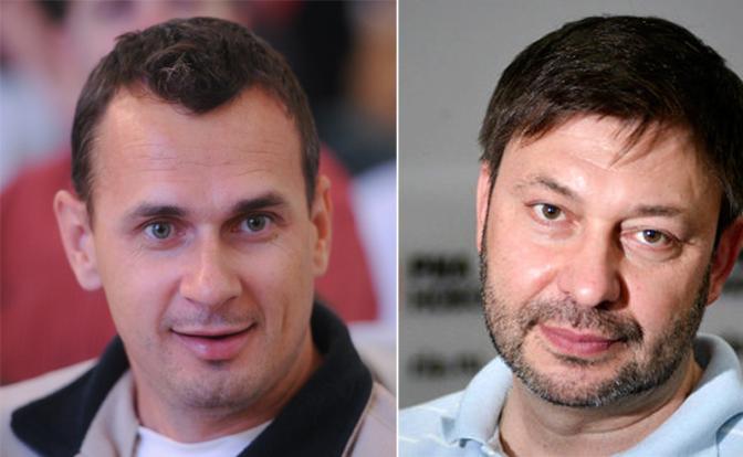 Особенности украинского торга: Меняем журналиста на террориста