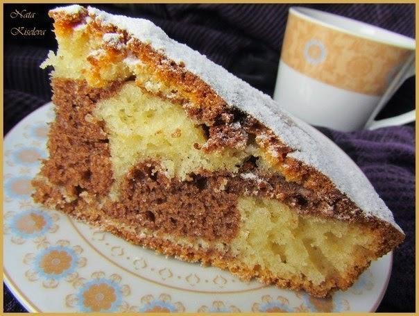 Простой пирог на ряженке