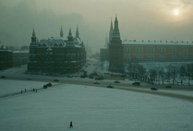 Вид на Красную площадь, 1967 СССР, история, фото