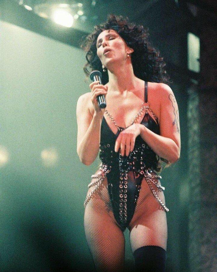 Шер во время ее тура Love Hurts (1992) история, ретро, фото