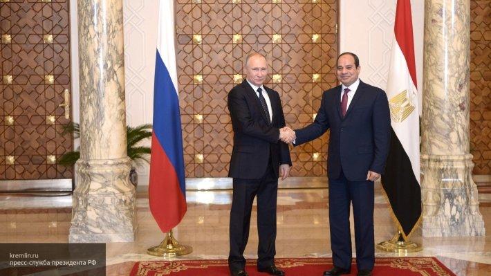 В Сочи пройдут переговоры президентов России и Египта