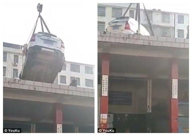 Как в Китае наказывают тех, кто паркуется как чудак ynews, и такое бывает, китай, наказание, неправильная парковка, последнее предупреждение, я паркуюсь как му*ак, я паркуюсь как чудак