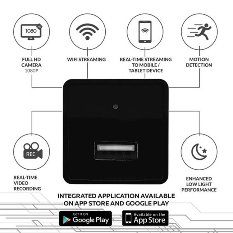 Скрытая камера наблюдения HD Mask замаскирована под зарядное USB-устройство условиях, камера, части, может, устройство, через, датчик, изображения, качество, хорошее, обеспечивает, Отмечается, движения, заказа, корпусаПредусмотрен, плохой, располагается, которой, Гбайт, ёмкостью