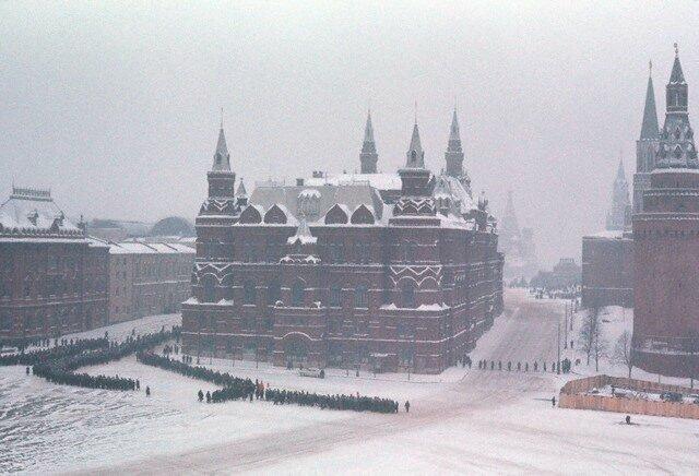 Похороны С.П.Королева, 1966 СССР, история, фото