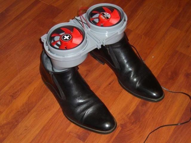 Актуально! Сушка для обуви своими руками
