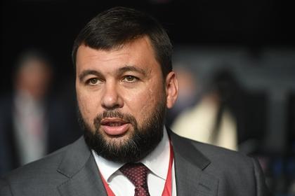 Глава ДНР оценил готовность Украины к масштабной войне в Донбассе