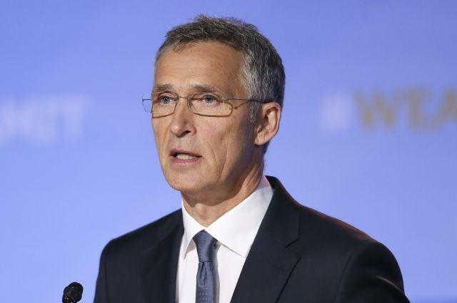 Столтенберг и Лавров обсудили военные учения на полях Генассамблеи ООН